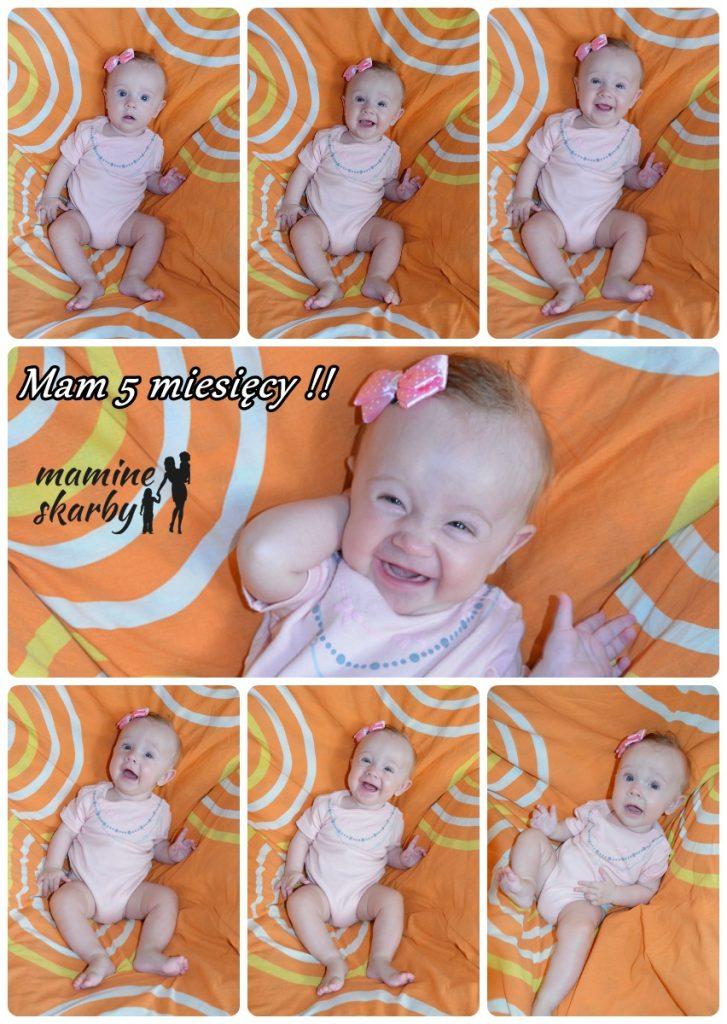 collage 5 miesięcy