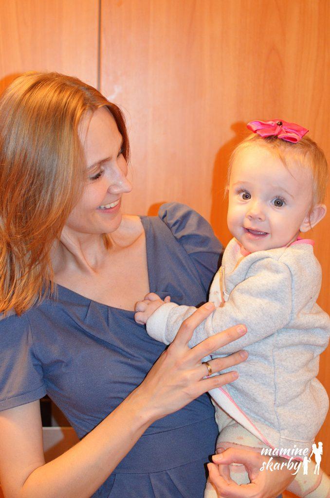 10 miesiąc mama z Lilą 2