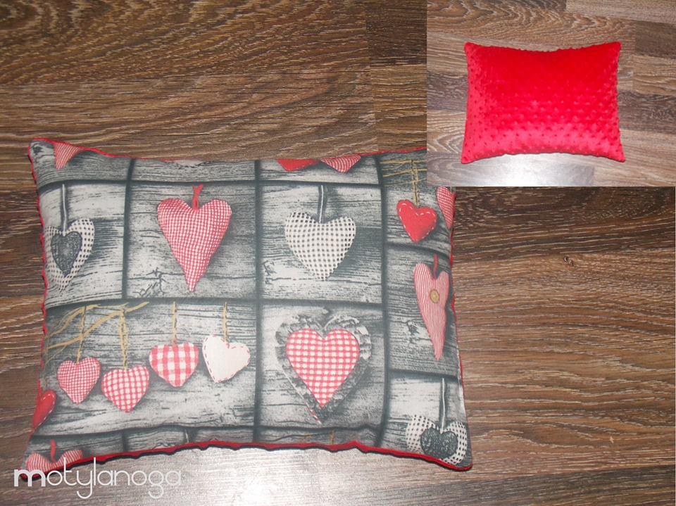 Nagroda Motylanoga hand made poducha 30 x 30 tkaniny do wyboru