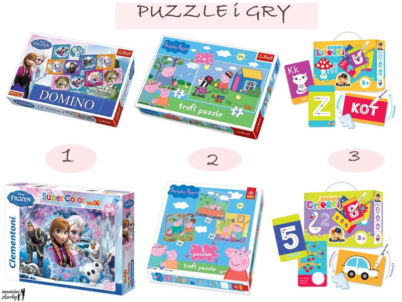 puzzle i gry duże