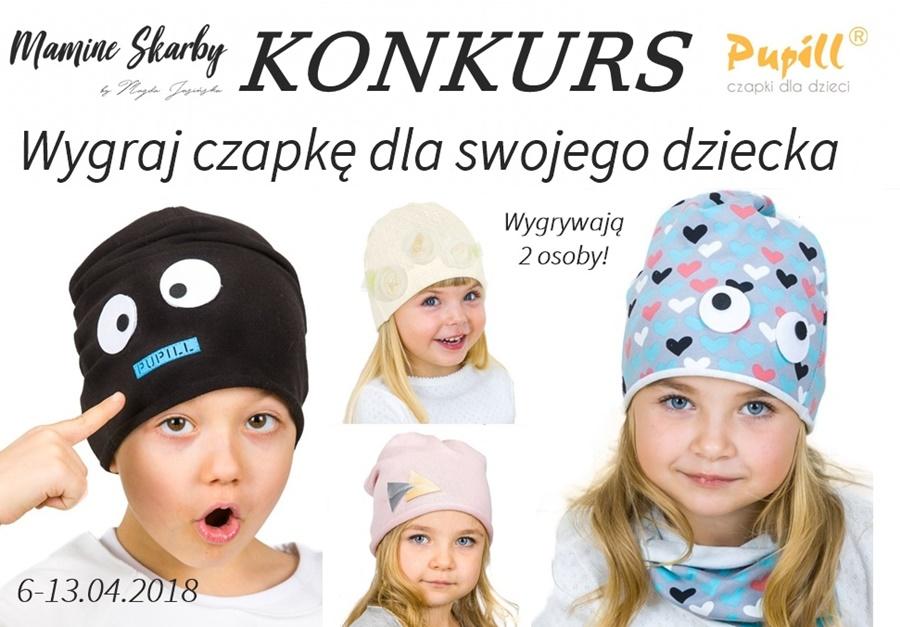 czapki pupill konkurs