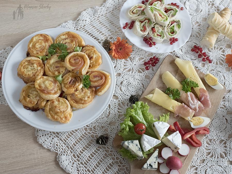 przystawki z serem