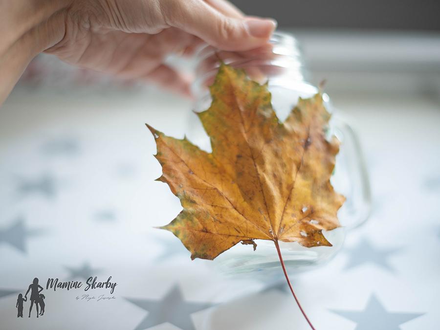 lampiony z liści