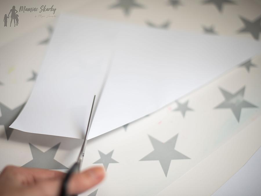 jak zrobić śnieżynkę z papieru