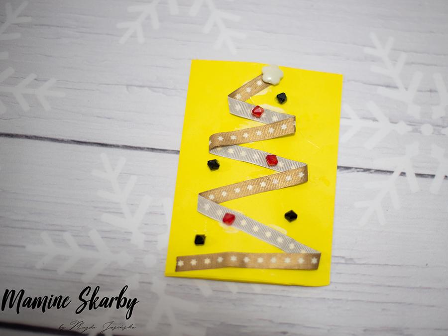 kartki świąteczne jak zrobić