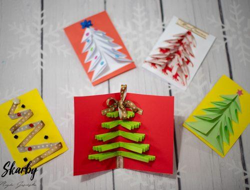 kartka świąteczna jak zrobić