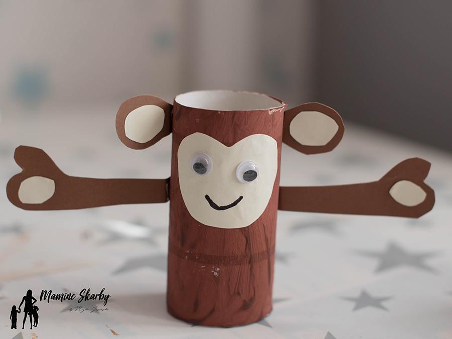 małpka z rolek