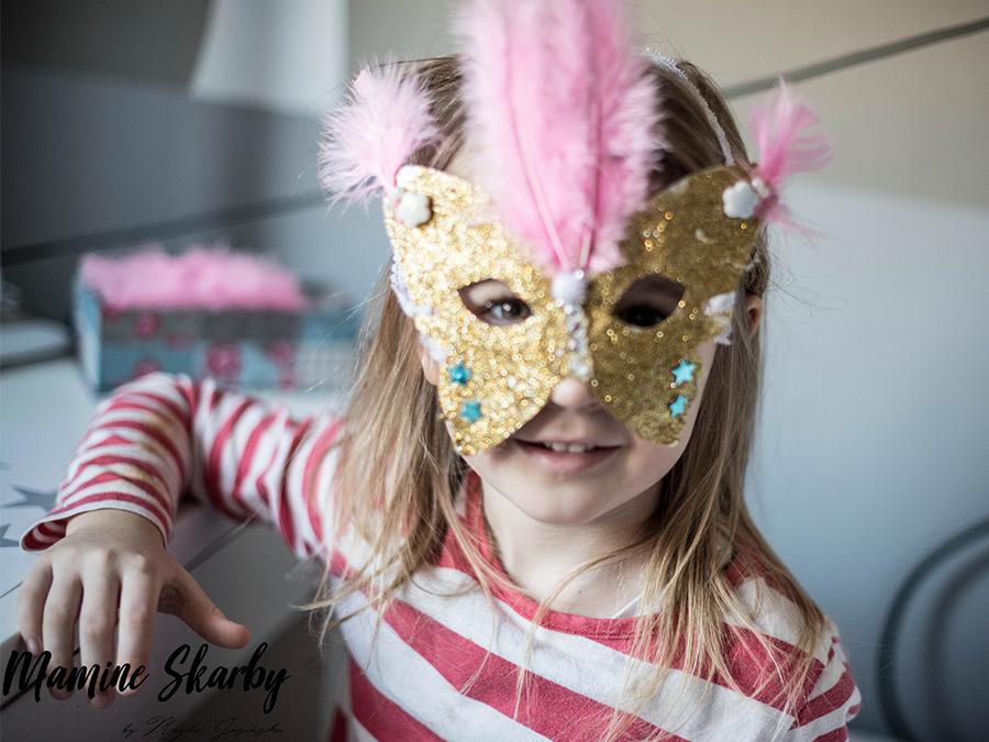 jak zrobić maskę