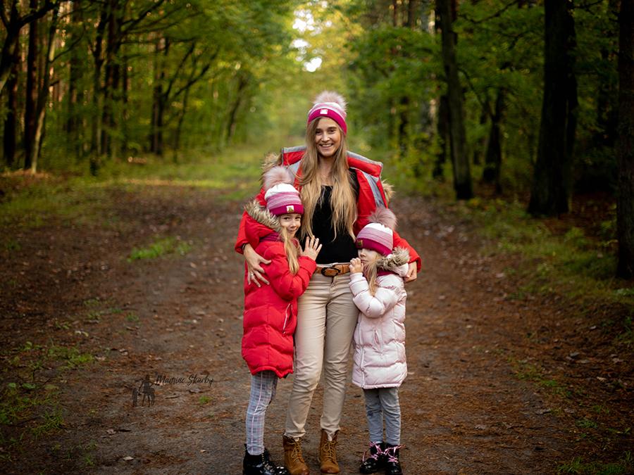 czapki mama i córka