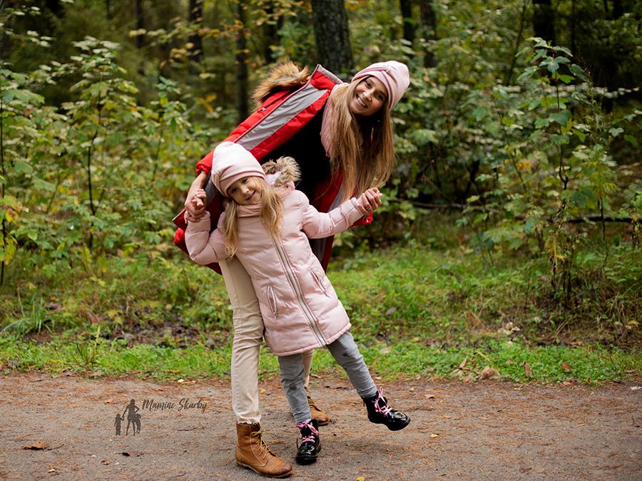 mama i córka czapki