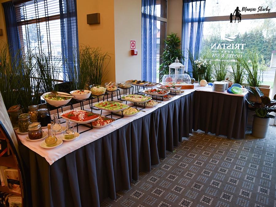 jedzenie hotel Trsitan