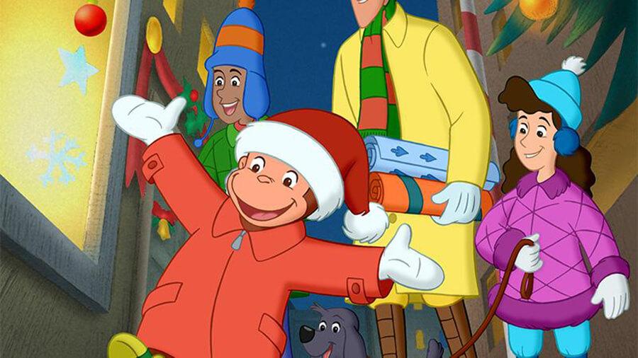 świąteczna bajka małpka ©eorge