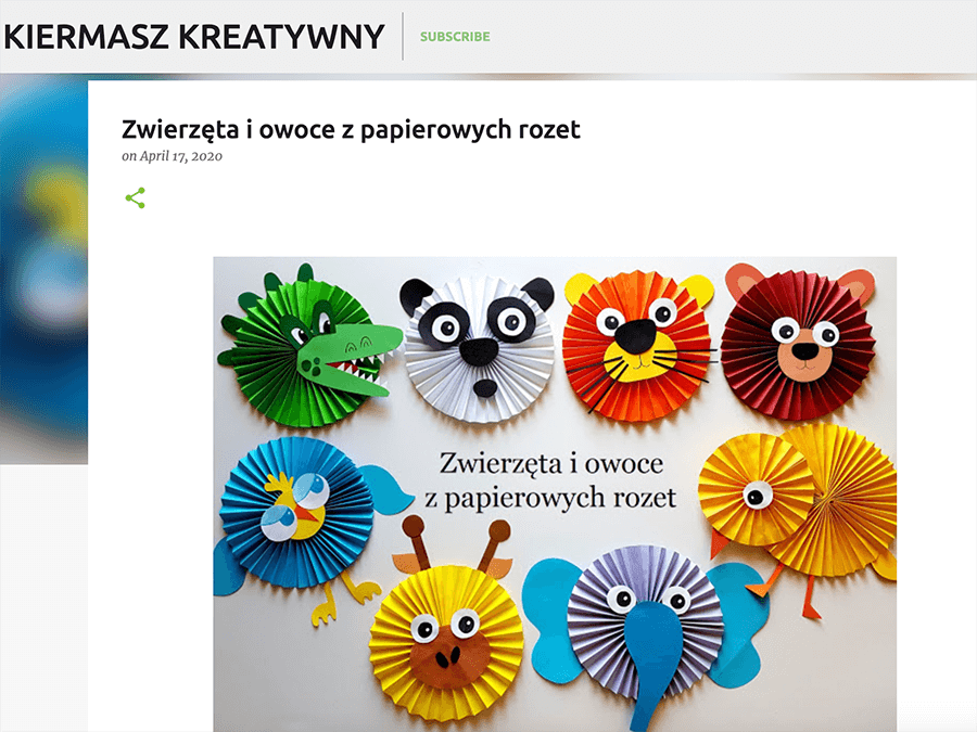kiermasz kreatywny
