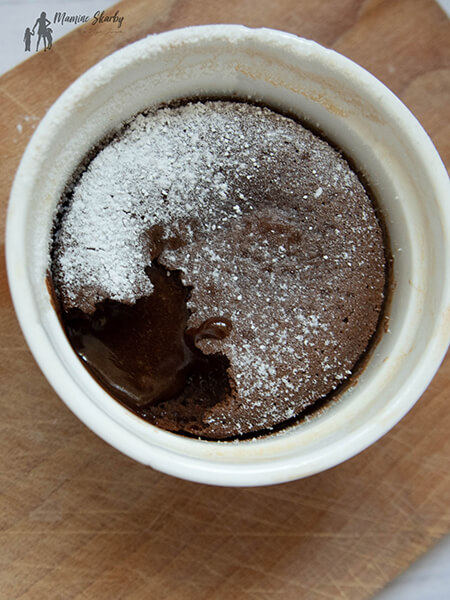 przepis suflet czekoladowy