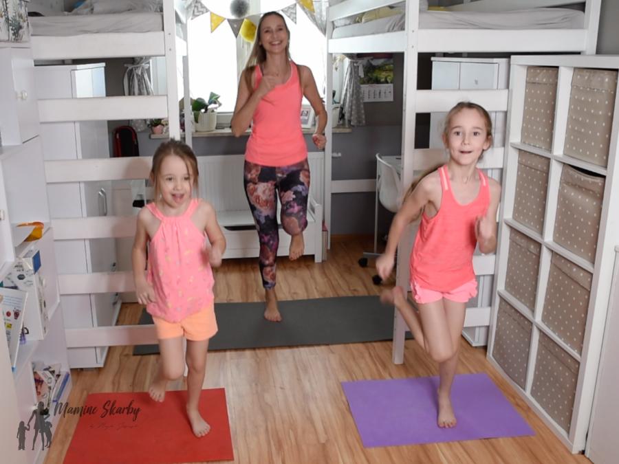 ćwiczenia z dziećmi