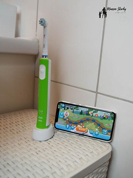 aplikacja oral B