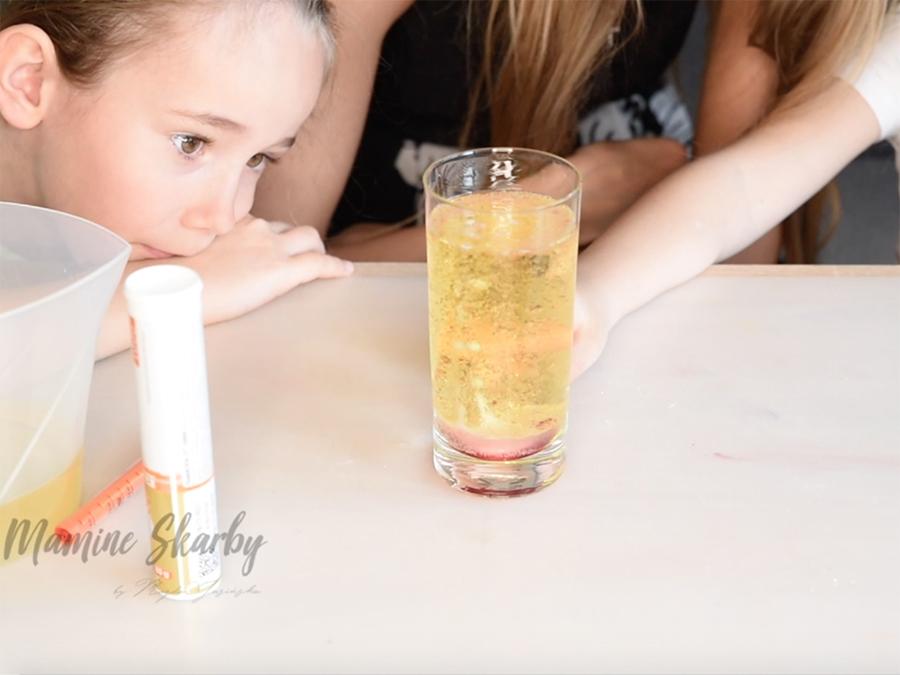eksperyment olej woda