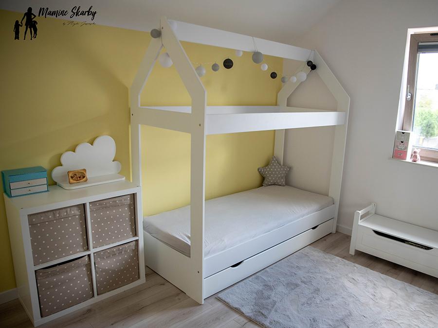 pokój dziecięcy łóżko