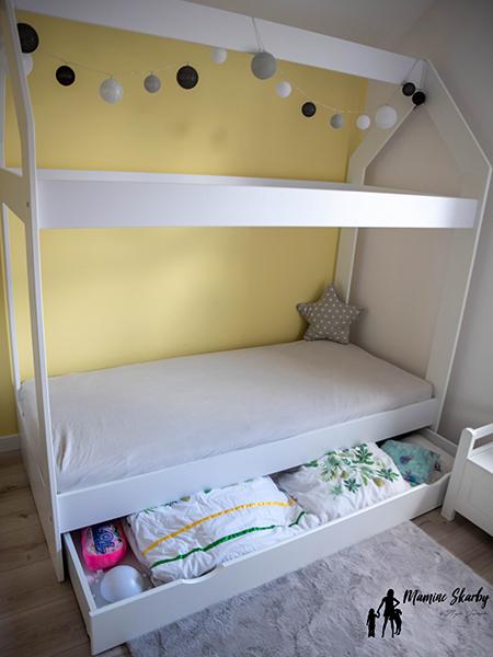 łóżko pokój dziecięcy