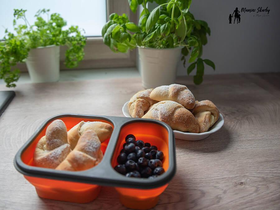 lunchbox rogaliki z serem