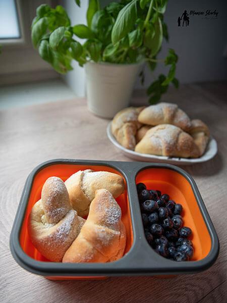 lunchbox rogaliki