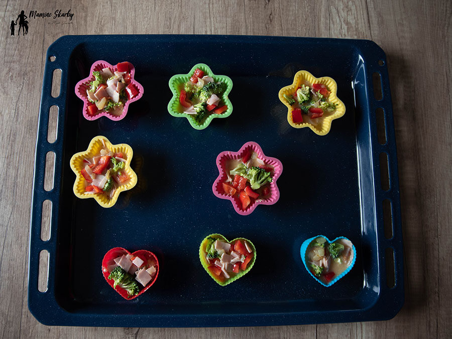 babeczki z warzywami