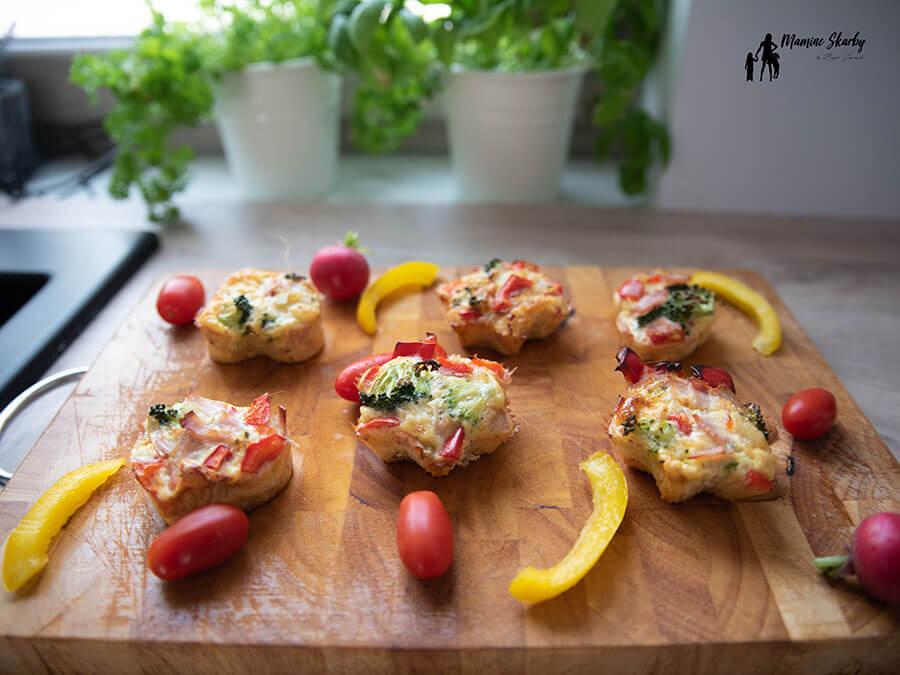 muffiny z warzywami