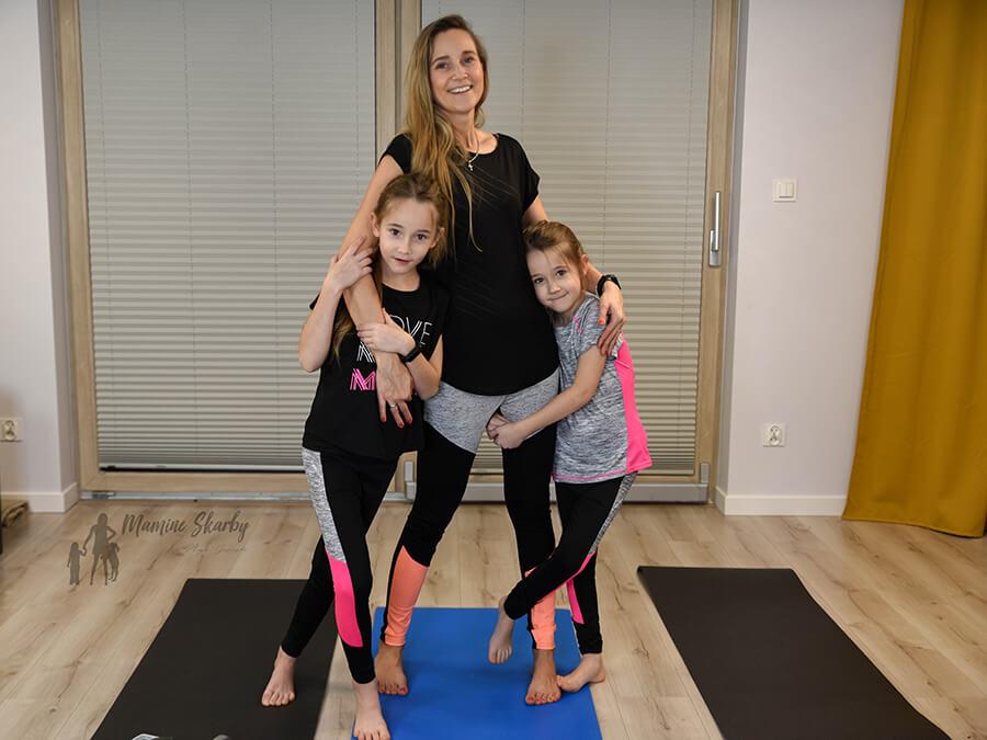 mama i córka ćwiczenia