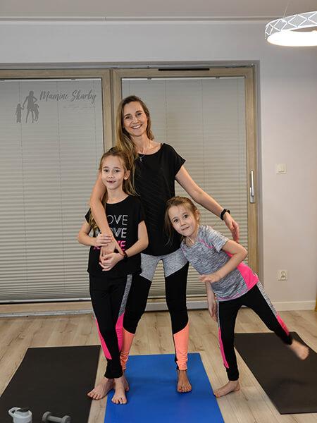 mama i córka fitness