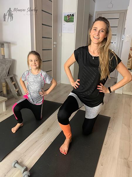 ćwiczenia mama i córka