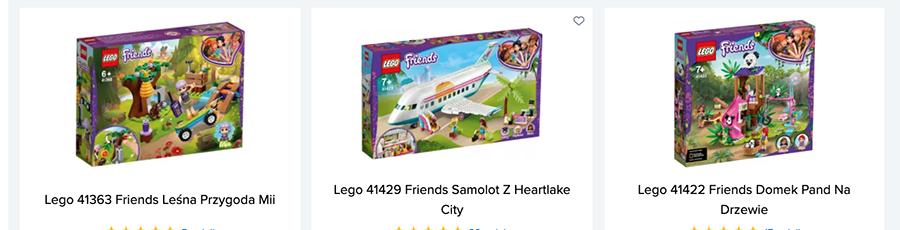 Lego prezent urodzinowy
