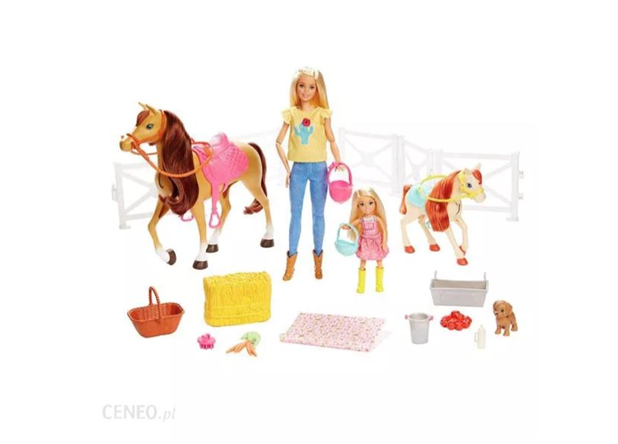 Barbie konie